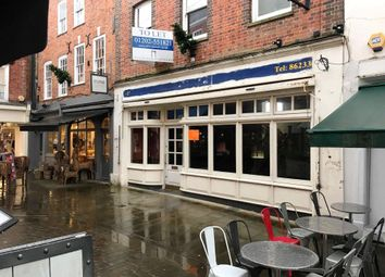 Thumbnail Retail premises to let in 20/21 The Square, Winchester