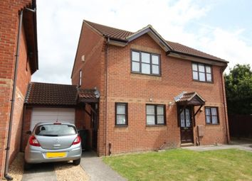 Thumbnail 2 bed semi-detached house for sale in Moonraker Close, Bridgwater