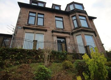 Thumbnail 2 bed flat for sale in Victoria Road, Gourock, Renfrewshire