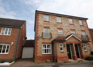 Thumbnail 4 bedroom link-detached house to rent in Claremont Crescent, Newbury