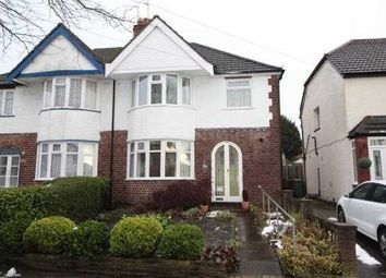 Thumbnail 3 bed semi-detached house to rent in Sandy Hill Road, Shirley, Solihull