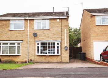 Thumbnail 2 bed semi-detached house for sale in Freesland Rise, Nuneaton