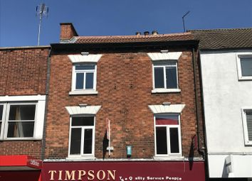Thumbnail 3 bedroom flat for sale in High Street, Grantham