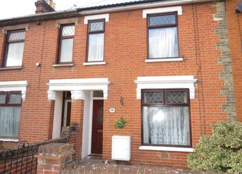 Thumbnail 2 bed terraced house to rent in Richmond Road, Ipswich