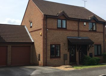 Thumbnail 2 bedroom semi-detached house to rent in Hucklow Court, Oakwood, Derby