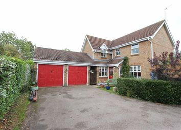 Thumbnail 4 bed detached house for sale in Maple Close, Woodford Halse, Daventry