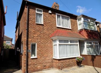 Thumbnail 3 bed semi-detached house for sale in Buckingham Road, Redcar