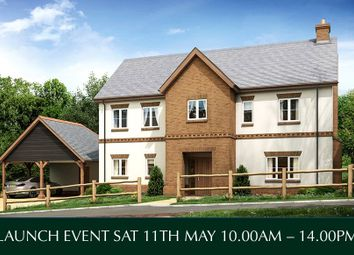 Thumbnail 4 bed detached house for sale in Rockbeare, Exeter