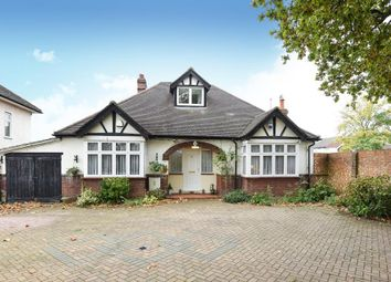 Thumbnail 3 bed detached bungalow for sale in Vicarage Road, Sunbury-On-Thames