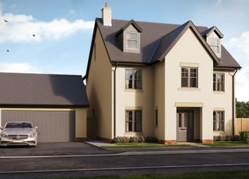 Thumbnail 4 bedroom detached house for sale in Usk Field, Llanishen, Cardiff