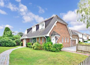 Thumbnail 4 bed detached house for sale in Ash Road, Hartley, Longfield, Kent