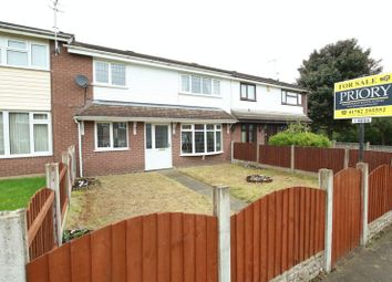 Thumbnail 3 bed town house for sale in Finch Place, Brindley Ford, Stoke-On-Trent