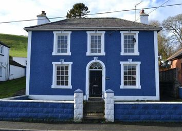 Thumbnail 4 bed detached house for sale in Panteg Road, Aberaeron, Ceredigion