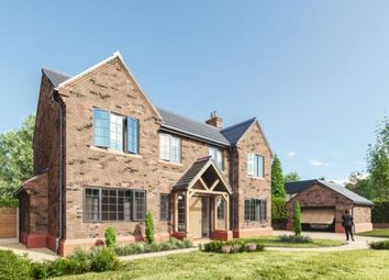 Thumbnail 4 bed detached house for sale in The Stables, Raby Road, Thornton Hough, Wirral