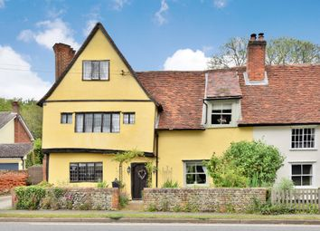 Thumbnail 4 bed semi-detached house for sale in Chapel Road, Ridgewell, Halstead