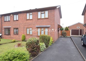 Thumbnail 3 bed semi-detached house for sale in Gladstone Street, West Bromwich, West Midlands