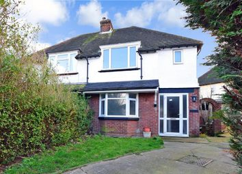 Thumbnail Semi-detached house for sale in West Park Road, Maidstone, Kent