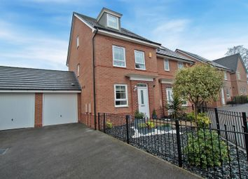 Thumbnail 4 bed town house for sale in Breconshire Gardens, Nottingham