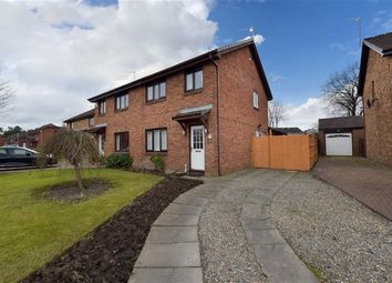Thumbnail 3 bedroom semi-detached house for sale in Merlinford Drive, Braehead, Renfrew