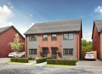 Thumbnail 3 bed semi-detached house for sale in Branston, Burton-On-Trent, Staffordshire