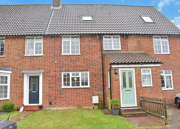 Thumbnail 3 bed terraced house for sale in Howard Close, Walton On The Hill, Tadworth, Surrey.