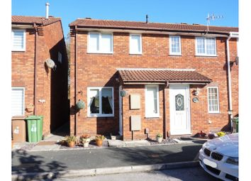 Thumbnail 2 bed end terrace house for sale in Marsh Close, Plymouth