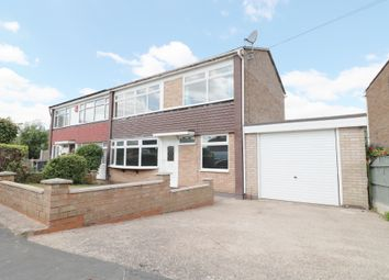 Thumbnail 3 bed semi-detached house for sale in Delves Crescent, Wood End, Atherstone