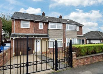 Thumbnail 4 bed semi-detached house for sale in Hallcroft Drive, Horbury, Wakefield