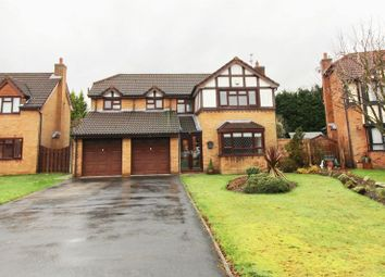 Thumbnail 4 bed detached house for sale in Arkholme, Worsley, Manchester
