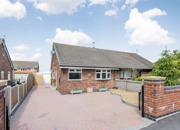 Thumbnail 2 bed semi-detached bungalow for sale in Slapton Close, Stoke-On-Trent