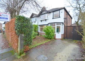 Thumbnail 3 bed semi-detached house to rent in Canterbury Drive, Prestwich, Manchester