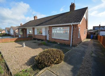 Thumbnail 2 bed semi-detached bungalow for sale in Loxley Road, Lowestoft