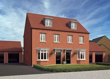 """Thumbnail 3 bed semi-detached house for sale in """"Kennett"""" at Stonnyland Drive, Lichfield"""
