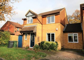 Thumbnail 3 bed link-detached house for sale in Meadowland, Chineham, Basingstoke