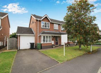 Thumbnail 3 bed semi-detached house for sale in Aldersley Way, Shrewsbury, Shropshire