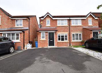 Thumbnail 3 bed semi-detached house for sale in Calder Lane, Eccles, Manchester