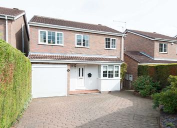 Thumbnail 4 bedroom detached house for sale in Nottingham Close, Wingerworth, Chesterfield
