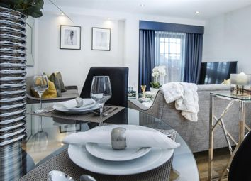 Thumbnail 1 bed flat for sale in Waterway Street West, Nottingham