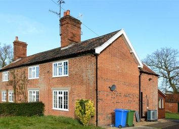 Thumbnail 2 bedroom semi-detached house to rent in Waterloo Cottages, Waterloo Road, Sotterley, Beccles