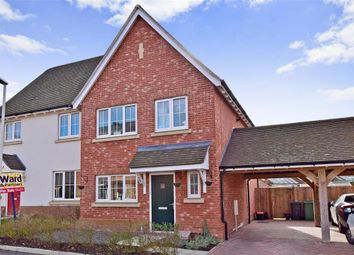 Thumbnail 3 bed semi-detached house for sale in Horwood Way, Harrietsham, Maidstone, Kent