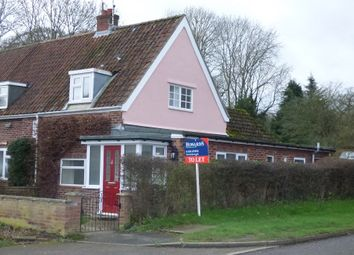Thumbnail 2 bedroom end terrace house to rent in The Common, Dunston, Norwich