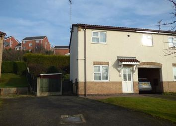 Thumbnail 2 bed end terrace house for sale in Cottesmore Close, Burton-On-Trent, Staffordshire