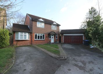 Thumbnail 4 bed detached house for sale in Rydal Way, Egham