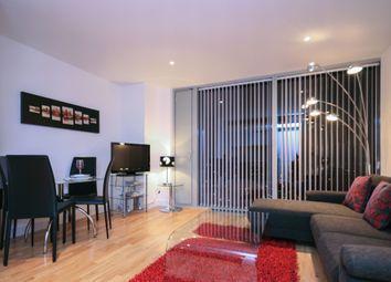 Thumbnail 1 bedroom flat to rent in The Landmark, West Tower, 22 Marsh Wall, 22 Marsh Wall, London