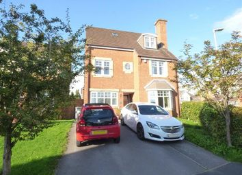 Thumbnail 5 Bed Detached House For Sale In Barnato Close Crewe
