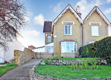 Thumbnail 6 bed semi-detached house for sale in Castle Road, Newport, Isle Of Wight