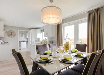"Thumbnail 4 bed detached house for sale in ""The Chedworth"" at Fox Lane, Green Street, Kempsey, Worcester"