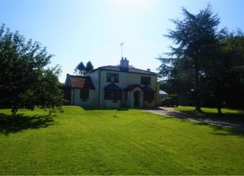 Thumbnail 4 bed detached house for sale in Meadow Lane, Swaffham