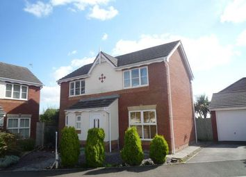 Thumbnail 3 bed detached house to rent in Heol Leubren, Barry