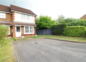 Thumbnail 2 bed end terrace house for sale in Constable Close, Woodley, Reading, Berkshire